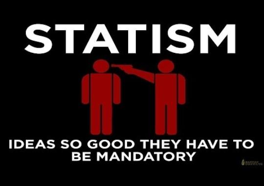 Estatismo, fanatismo, clientelismo: los grilletes que atan al esclavo moderno